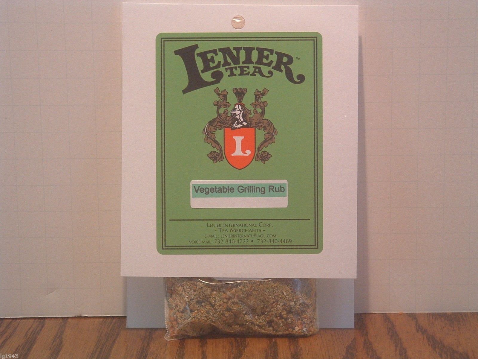 Lenier's BBQ Fiery Hot Pepper Blend Seasoning/ Rubs 2oz Free Shipping