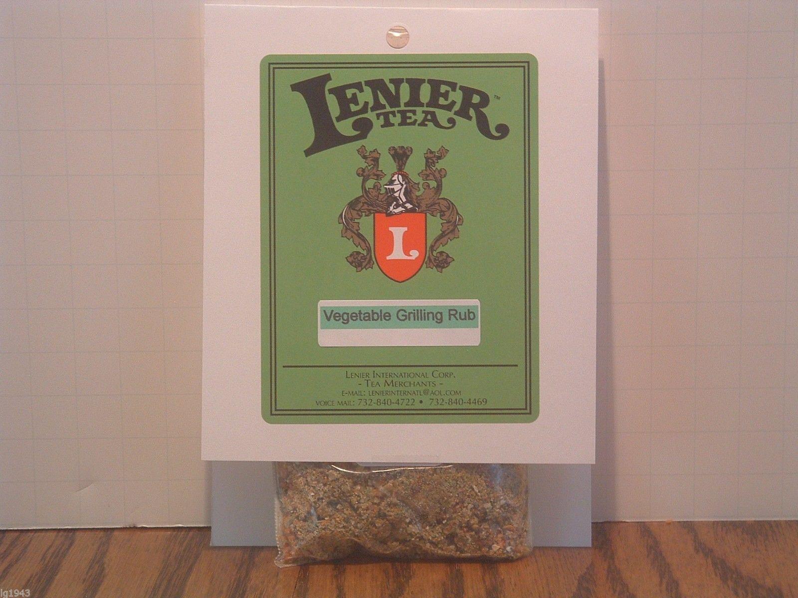 Lenier's Smokey Cedar Salmon BBQ Seasoning/ Rubs 2oz Free Shipping