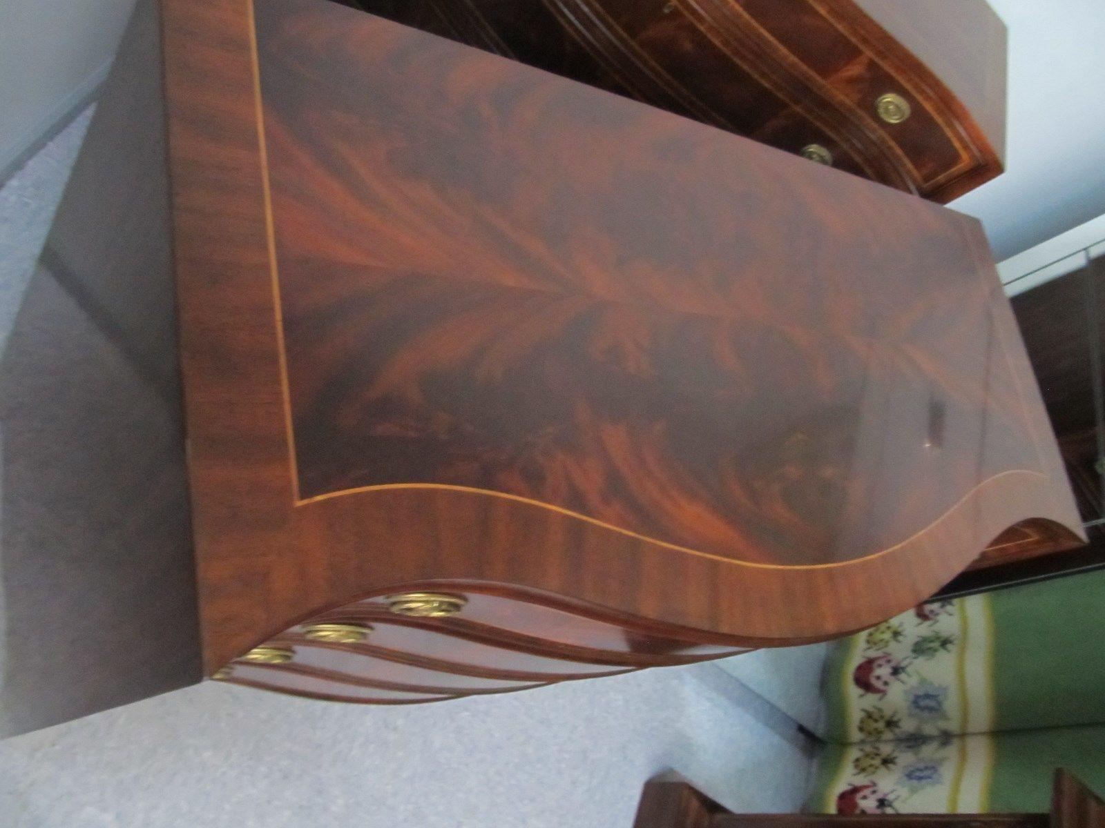 Henredon Oxford Classics Mahogany & Rosewood Single Dresser Chest 9400-02