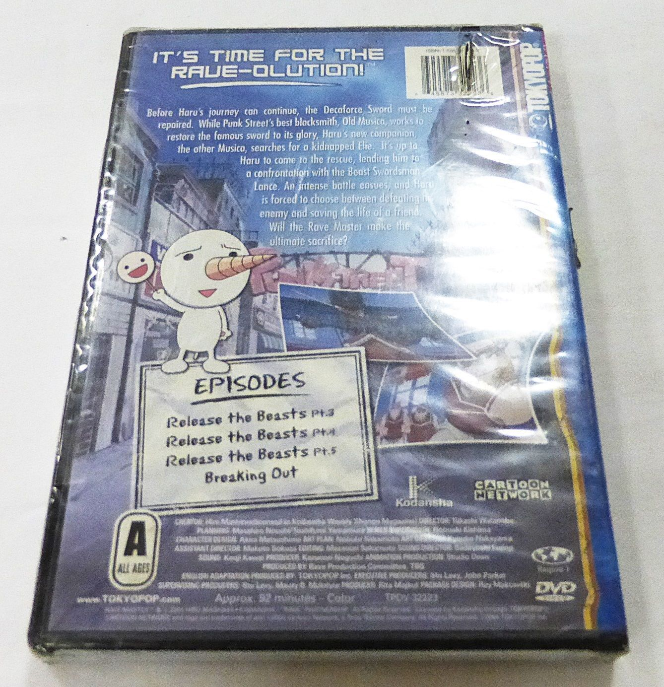 New Rave Master Volume 2: Release The Beasts (DVD, 2004)