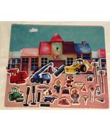 Colorforms Bob the Builder Preschool Felt Board. Characters And Accessor... - $19.24