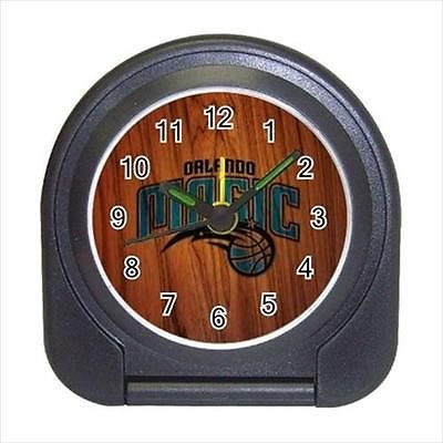 Orlando Magic Compact Travel Alarm Clock (Battery Included) - NBA Basketball