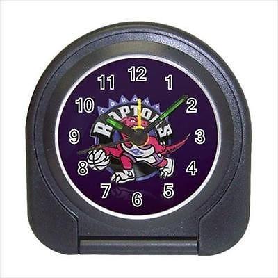 Toronto Raptors Compact Travel Alarm Clock (Battery Included) - NBA Basketball