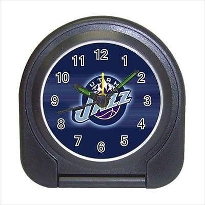 Utah Jazz Compact Travel Alarm Clock (Battery Included) - NBA Basketball