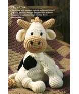 Y539 Crochet PATTERN ONLY Clara the Sitting Cow... - $8.45