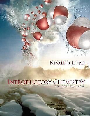 *VERY GOOD CONDITION* INTRODUCTORY CHEMISTRY 4TH US EDITION BY NIVALDO J TRO