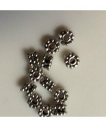 (12) New 925 Sterling Sterling Silver Bali Style Spacer 5mm - $9.89