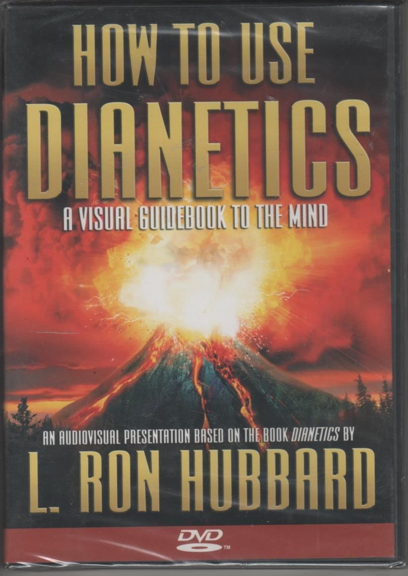 How To Use Dientics L. RON HUBBARD DVD NEW Issac Hayes Estate Personal Item