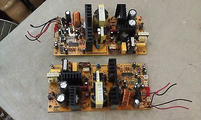 5EE57 PAIR OF POWER SUPPLIES (FROM WHYNTER REFRIGERATOR) UNTESTED BUT INTACT
