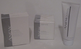 Avon Women Anew Clinical Wrinkle Anti-Aging Face Products 3 Piece All Skin Types - $60.85