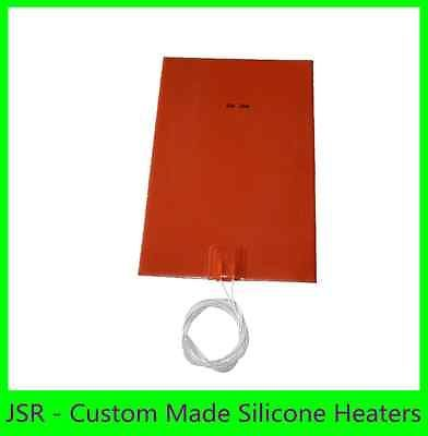 "8"" X 12"" 200 X 300mm 12V 10W w/ 10 Degree C No 3M CE UL iThermal Flexible Heater"