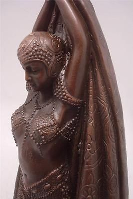ANTINEA - Bronze Dancer by D.H. Chiparus