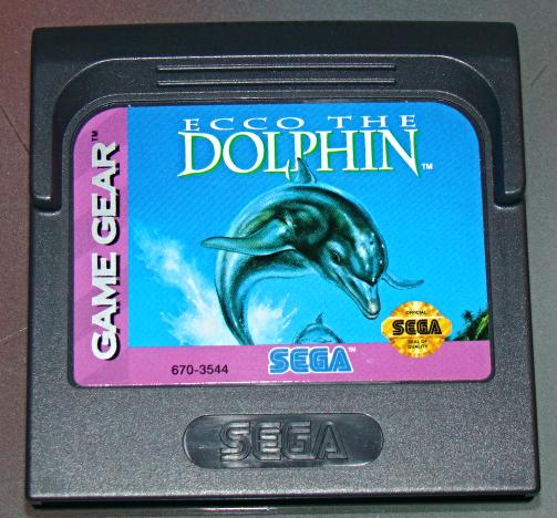 SEGA GAME GEAR - ECCO THE DOLPHIN (Game Only)