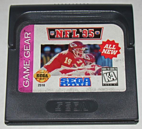 SEGA GAME GEAR - SEGA SPORTS - NFL '95 (Game Only)