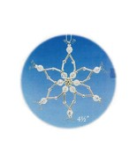 Y570 Bead PATTERN ONLY Beaded Crystal Snowflake Christmas Ornament Pattern - $9.50