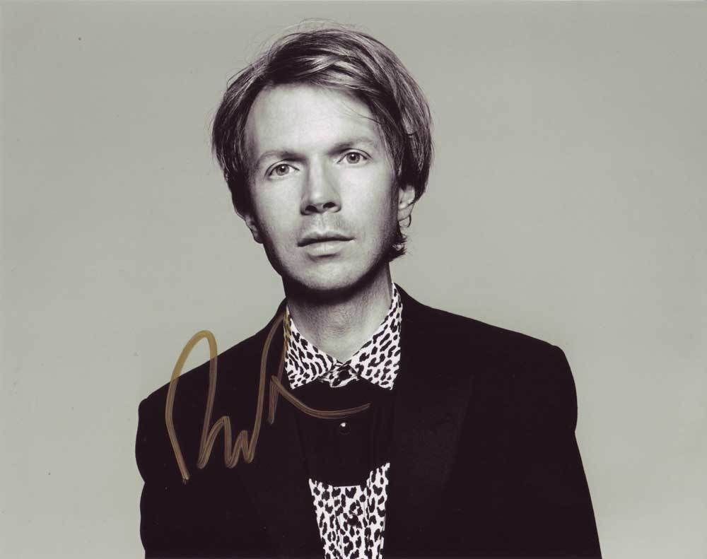 Beck In-person AUTHENTIC Autographed Photo COA SHA #94458