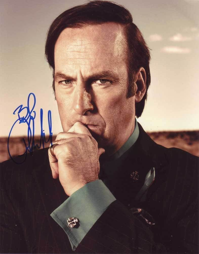 Bob Odenkirk In-person AUTHENTIC Autographed Photo COA SHA #28105
