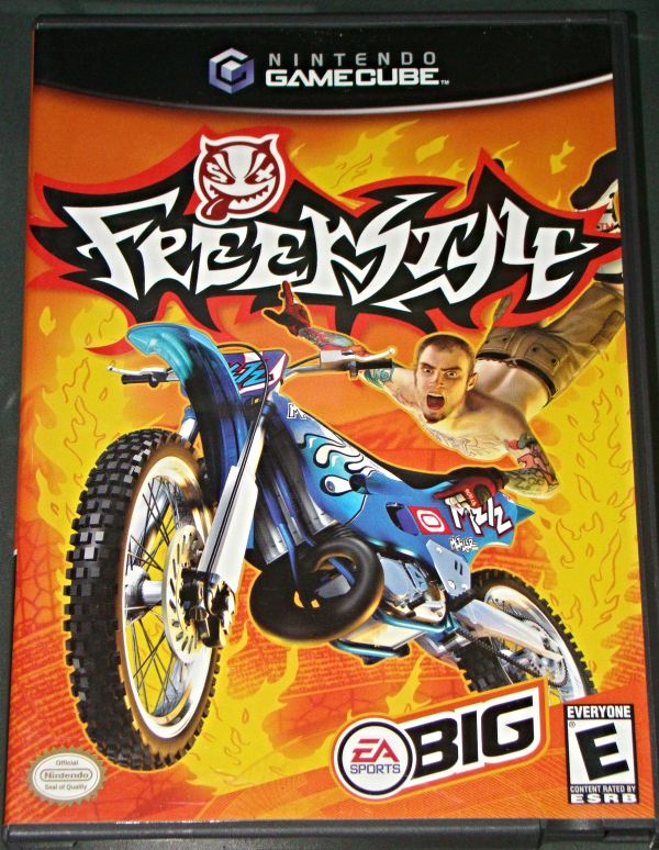 Nintendo GAMEBCUBE - EA SPORTS BIG - FREEK STYLE (Complete with Instructions)