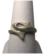 Sterling Silver Wrap Around Dolphin Ring - $12.00