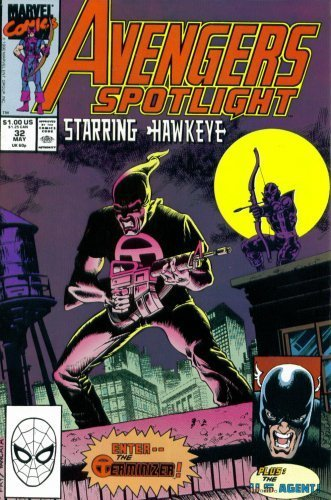 Avengers Spotlight #32 : Featuring Hawkeye and USAgent (Marvel Comics) by Ste...