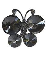 Adjustable Smokey Grey Ravioli Fashion Ring - $15.00