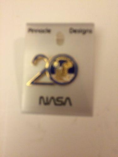 Vintage NASA Apollo 11 20th Anniversary Enameled Pin New On Card