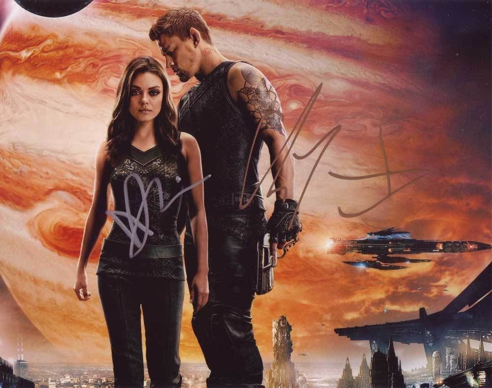 Jupiter Ascending In-person AUTHENTIC Autographed Photo COA SHA #98692