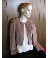 Short Jacket, Velvet Bolero, Vintage 1960's-70'... - $36.00