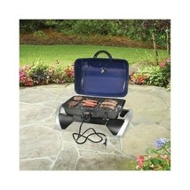 Electric Tabletop Grill Portable Outdoor Indoor BBQ Patio Deck Cookout P... - €65,88 EUR