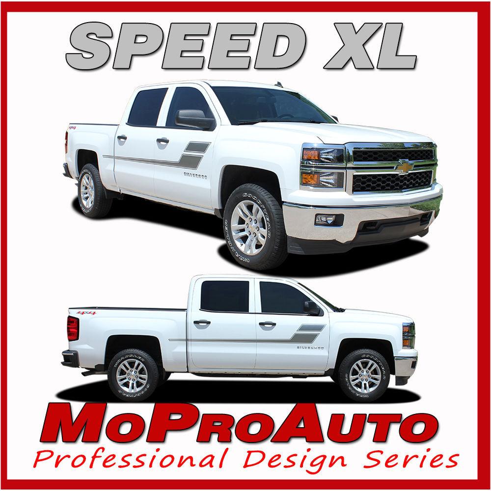Chevy Silverado SPEED XL 3M Pro Grade Vinyl Side Stripe 2006 Decals Graphic MNW