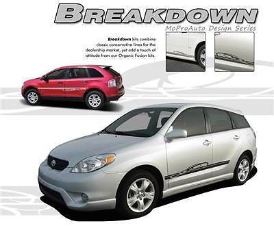 BREAKDOWN Vinyl Rocker Panel GRAPHICS Decal Stripes CHEVY COBALT 343