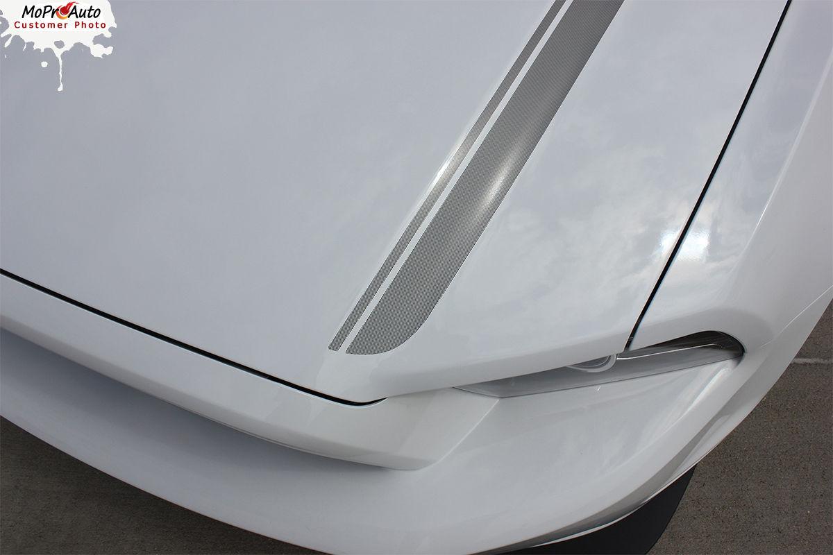 CALIFORNIA SPECIAL GT/CS Rocker Hood Vinyl Stripe Decal Graphic 2013 Mustang L26
