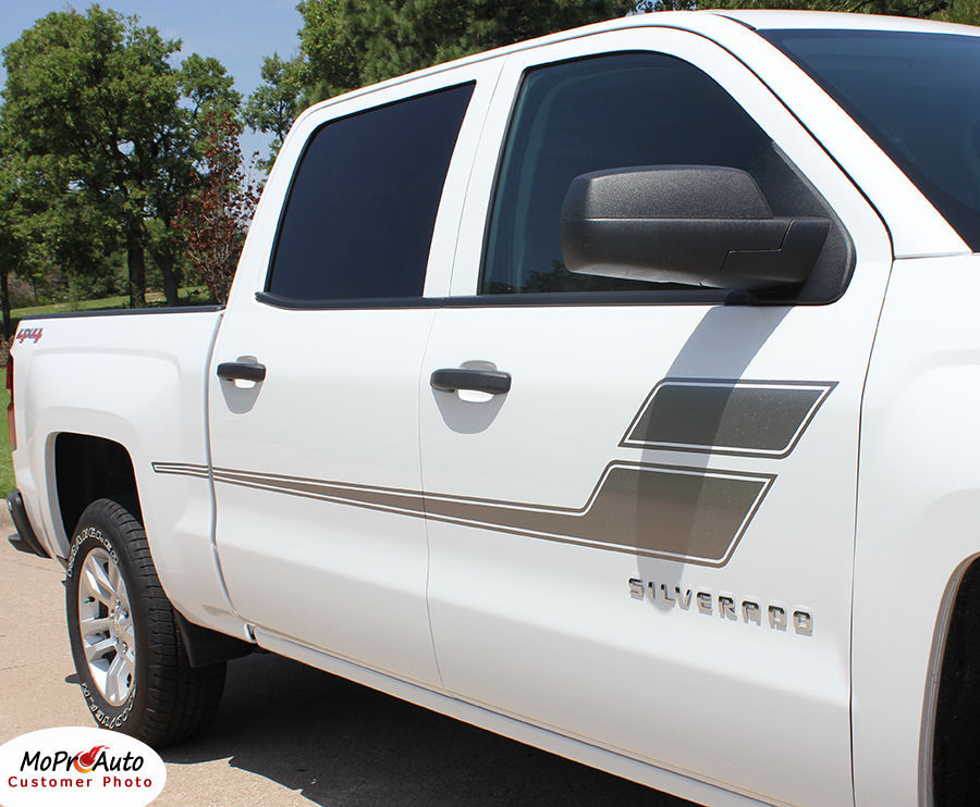 Chevy Silverado SPEED XL 3M Pro Grade Vinyl Side Stripe Decals 2004 Graphic 4RF