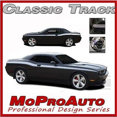 Classic Dodge Challenger Graphics Side Body Stripes Decals 2013 3M PRO Vinyl DC4
