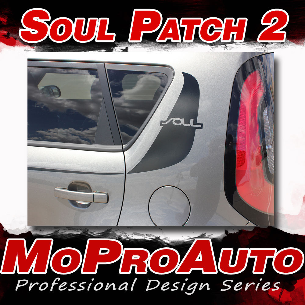 FITS 2014 KIA SOUL Patch 3M Pro Vinyl Graphics Stripes Decals Hood Body Side VT1
