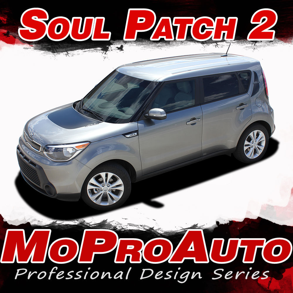FITS 2014 KIA SOUL Patch 3M Pro Vinyl Graphics Stripes Decals Hood Body Side VO1