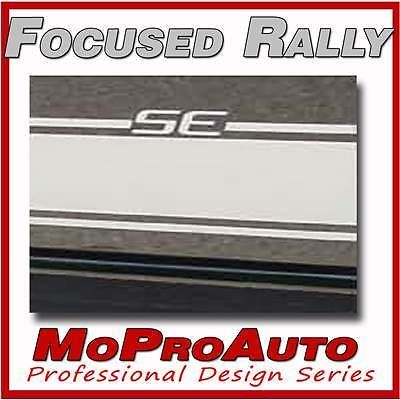 Ford Focus Vinyl -3M Pro 523 Vinyl GRAPHICS Racing Stripes Decals * SE