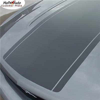 "Mustang ""OE Style"" Hood Roof Stripes Decals Graphic - 3M Pro Vinyl 2011 9HW"