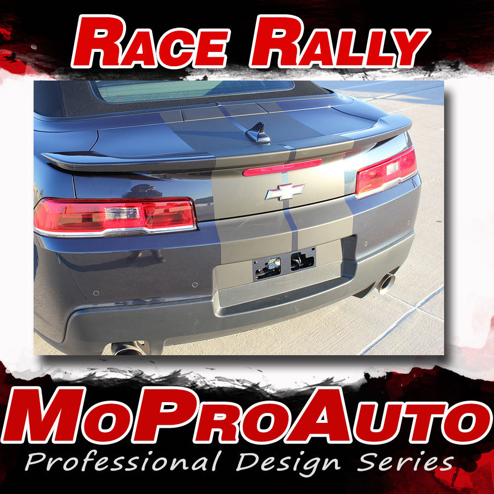 RACE RALLY Camaro 2015 3M Pro Vinyl Graphics Rally Racing Stripes Decals SS RS 3