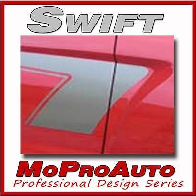 SWIFT Ford Focus Side - Professional Vinyl Graphic Decals Stripes 2009 756