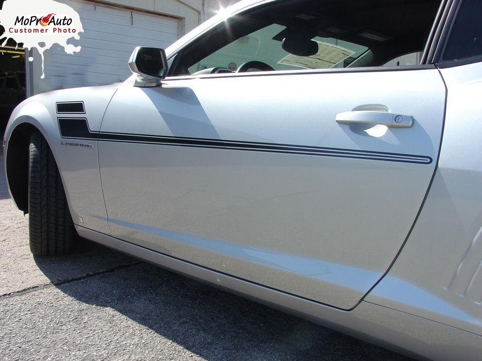 SPEED 2 Chevy Camaro 2015 Hockey Stick Body Stripes 3M Vinyl Graphic Decals LS1
