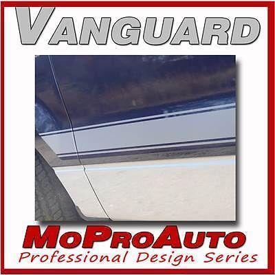 VANGUARD Vinyl GRAPHICS Decals - Professional ROCKER PANEL STRIPES * 401