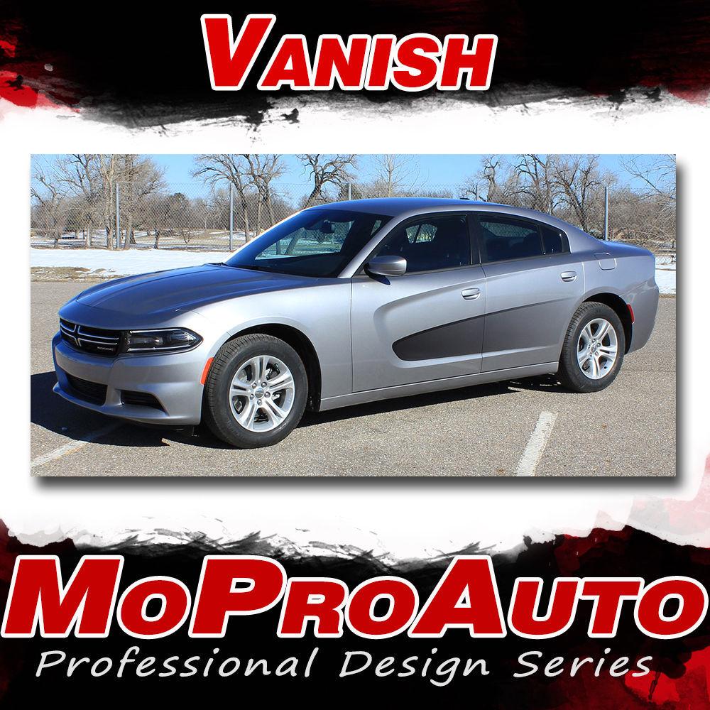 VANISH   2015 Dodge Charger 3M Vinyl Graphics Screen Print Side Decals Stripe Y5