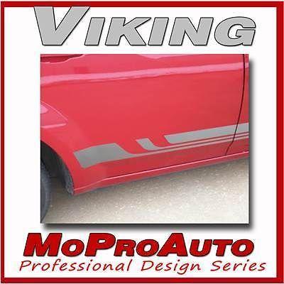 VIKING Vinyl GRAPHICS - Professional Decals Fade Style ROCKER STRIPES 262