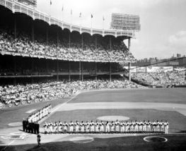 Yankee Stadium WS BD New York Yankees Vintage 8X10 BW Baseball Memorabilia Photo - $6.99