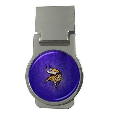 Minnesota Vikings Chrome Money Clip - NFL Football