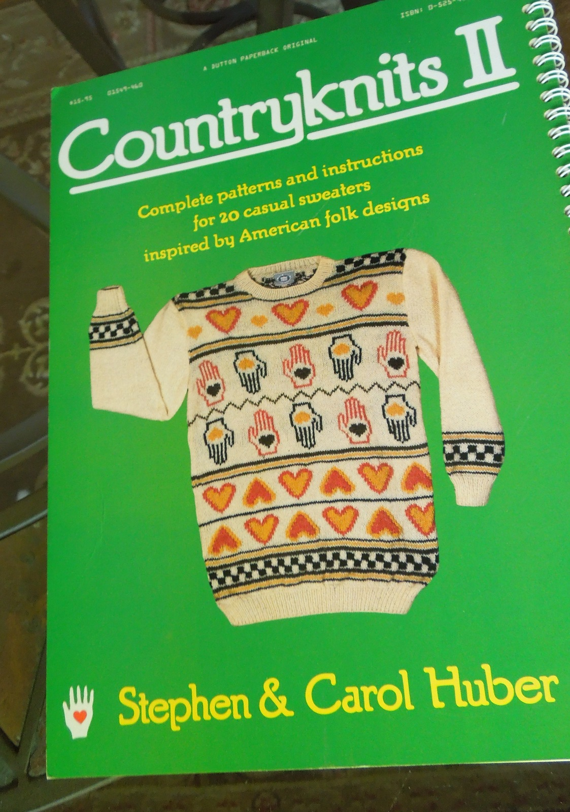 "Vintage Knitting Pattern Book - 1987 ""Country Knits for Kids""    #4881/ #7307"