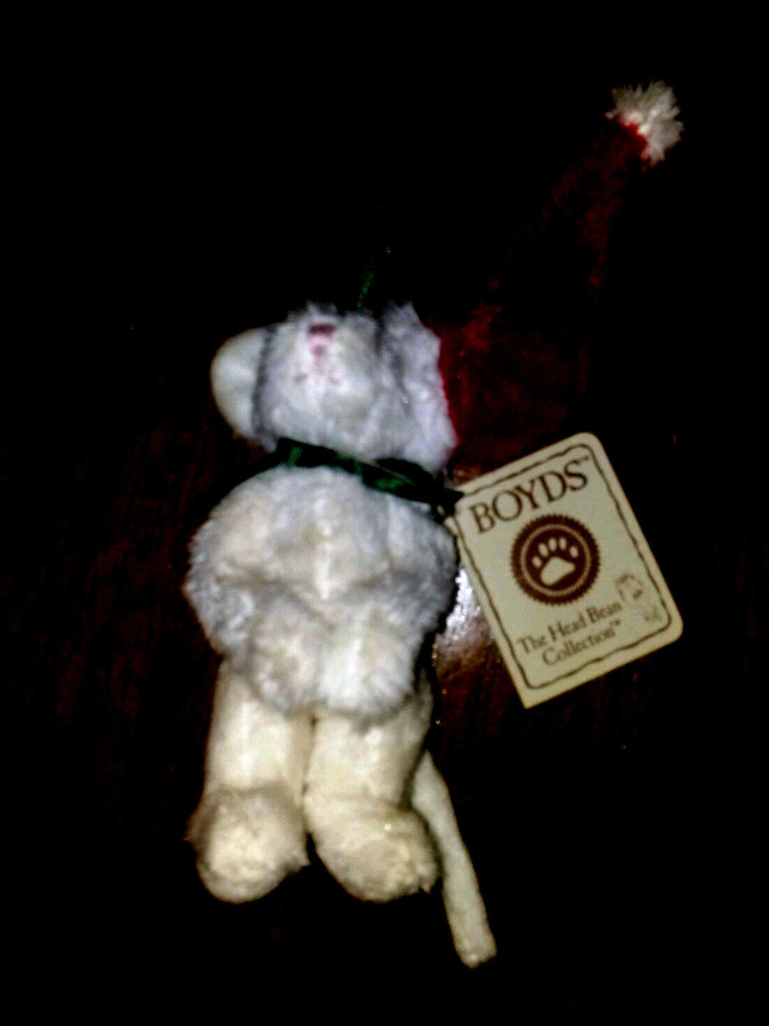 """Boyds Bears """"Mousekins"""" #562660-  3.5"""" Mouse Ornament- NWT- 2004 -Retired"""