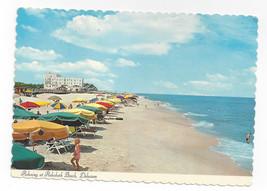 Rehoboth Beach MD Umbrellas 1970s Paul Rodgers Postcard 4X6 - $6.49