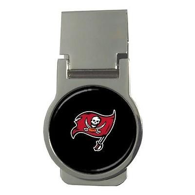 Tampa Bay Buccaneers Chrome Money Clip - NFL Football
